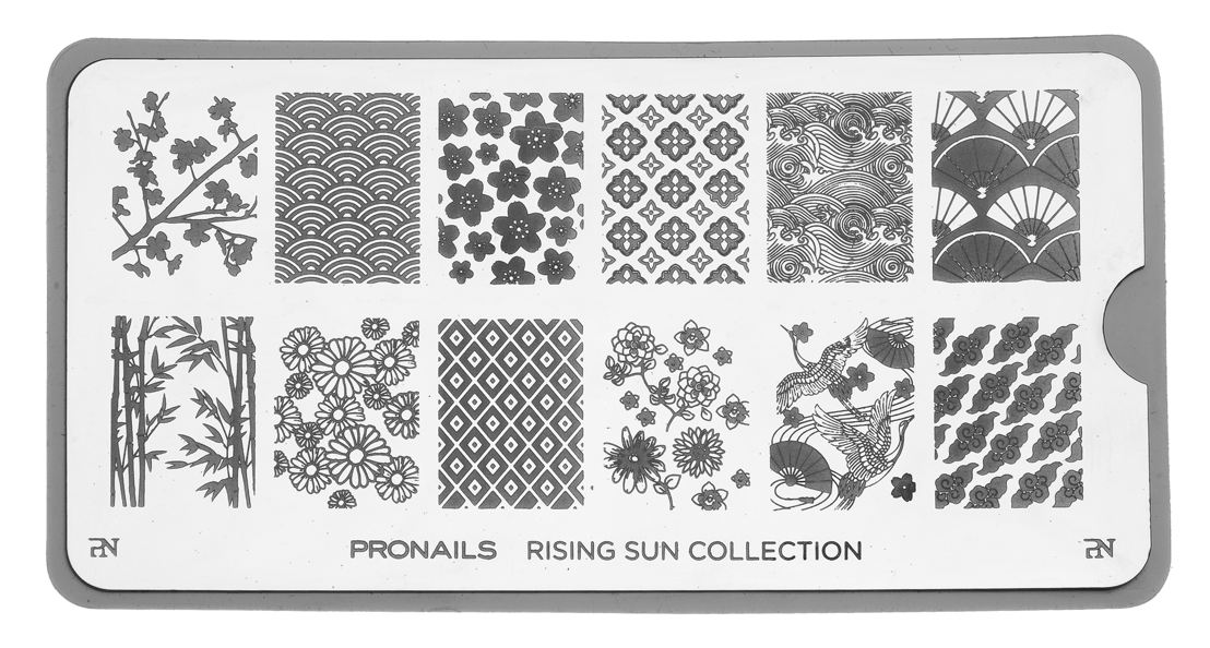 Stamping Plate uit Rising Sun Collection