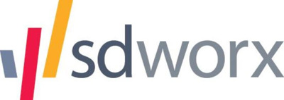 SD Worx press room Logo