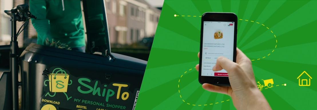 ShipTo, de personal shopperdienst van Carrefour België, nu ook beschikbaar in Gent!