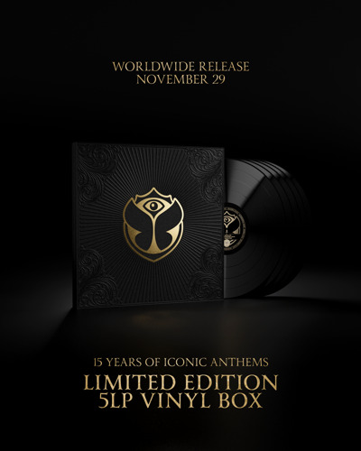 Tomorrowland XV Vinyl (5LP) – Le meilleur des 15 ans de Tomorrowland