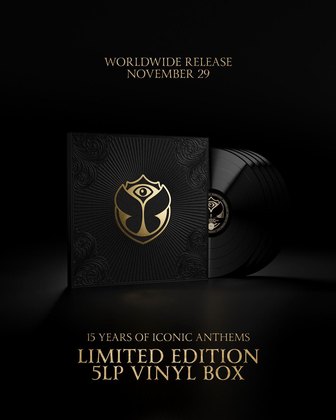 Tomorrowland XV Vinyl (5LP) – Het beste uit 15 jaar Tomorrowland