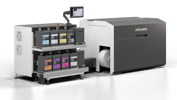 Preview: BOBST enhances design of Mouvent LB701-UV digital label press for optimum user experience