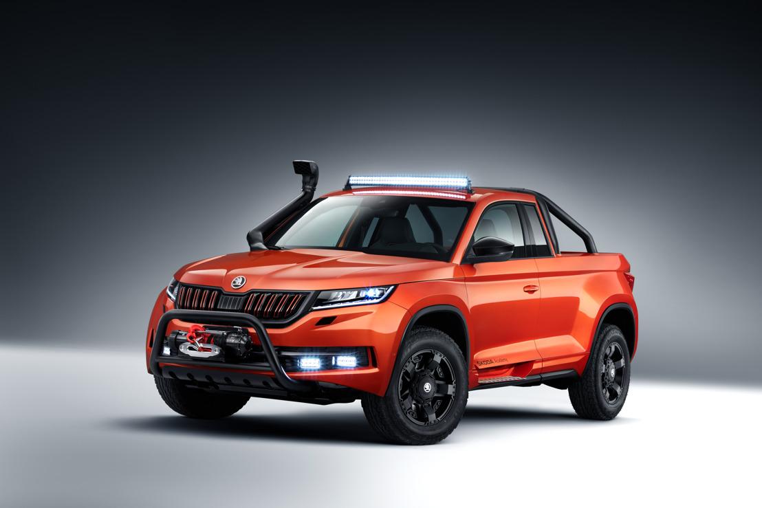 Recht naar de top met de ŠKODA MOUNTIAQ: zesde ŠKODA Student Concept Car lonkt naar het avontuur