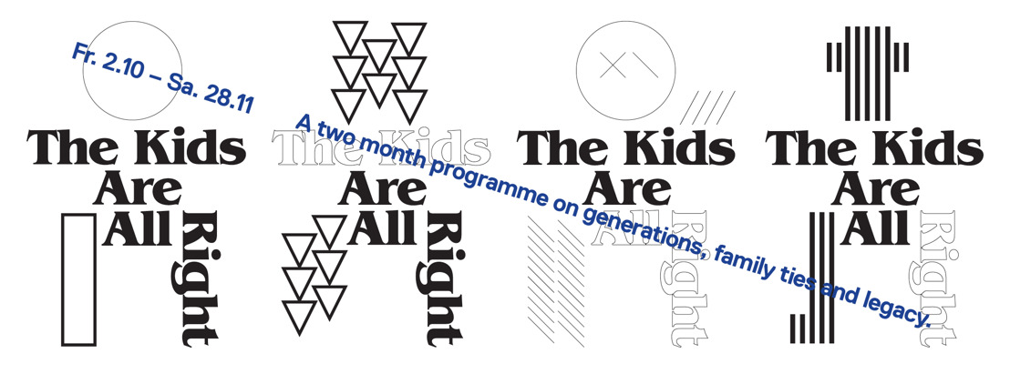 The Kids Are All Right - weekend d'ouverture 2 & 3 octobre