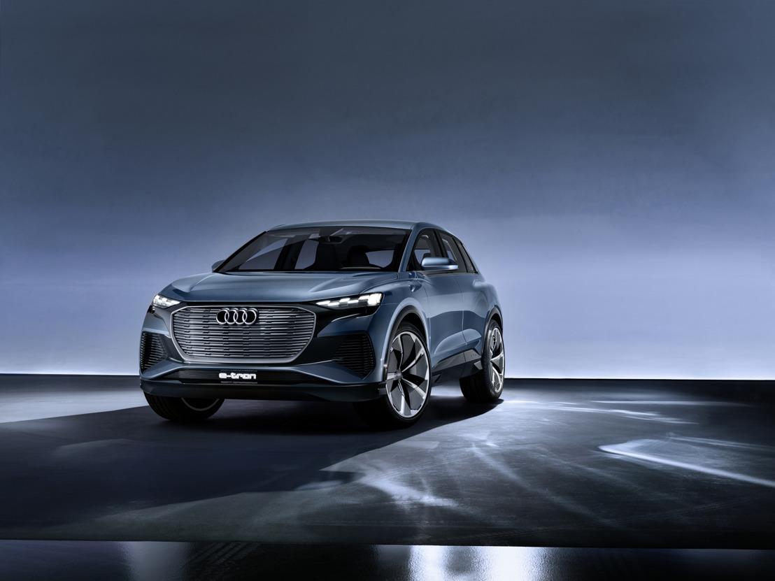 Un coup d'œil sur l'avenir de la gamme : l'Audi Q4 e-tron concept