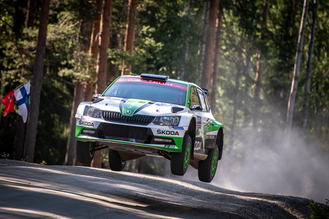 Rally Sweden: ŠKODA Motorsport's Kalle Rovanperä chases lead in WRC 2 Pro category