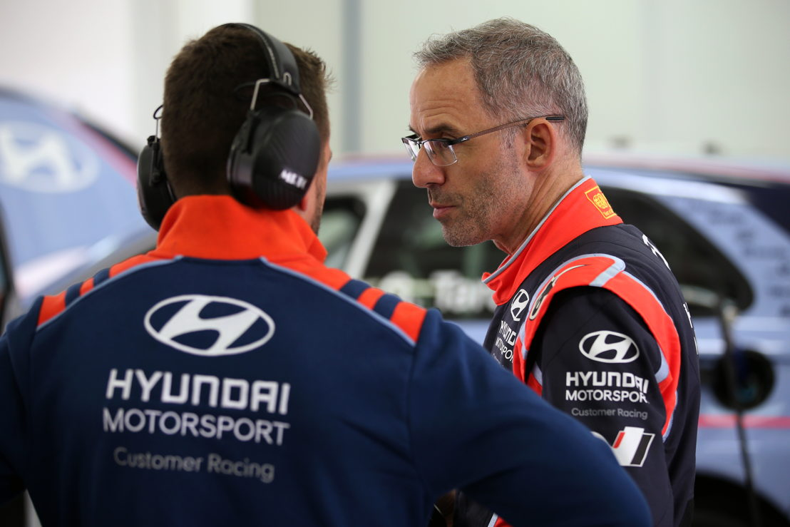 Alain Menu with Hyundai i30 N TCR