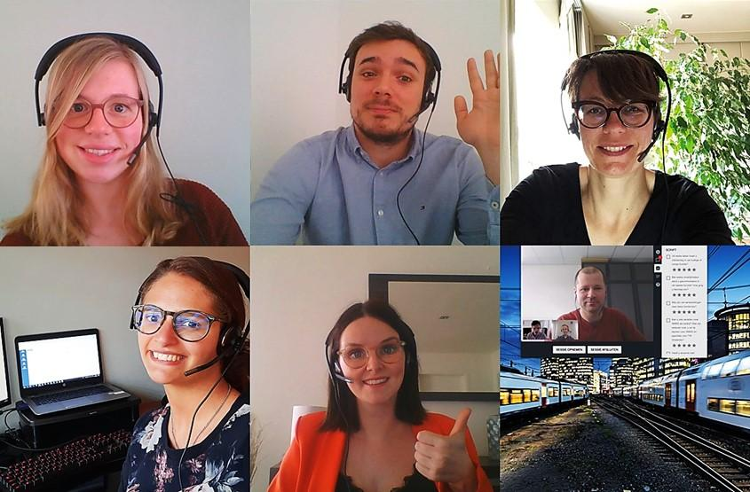 La SNCB a engagé 1.300 nouveaux collaborateurs en 2019 et continue à recruter activement, y compris via vidéo conférence en cette période de crise liée au COVID-19.