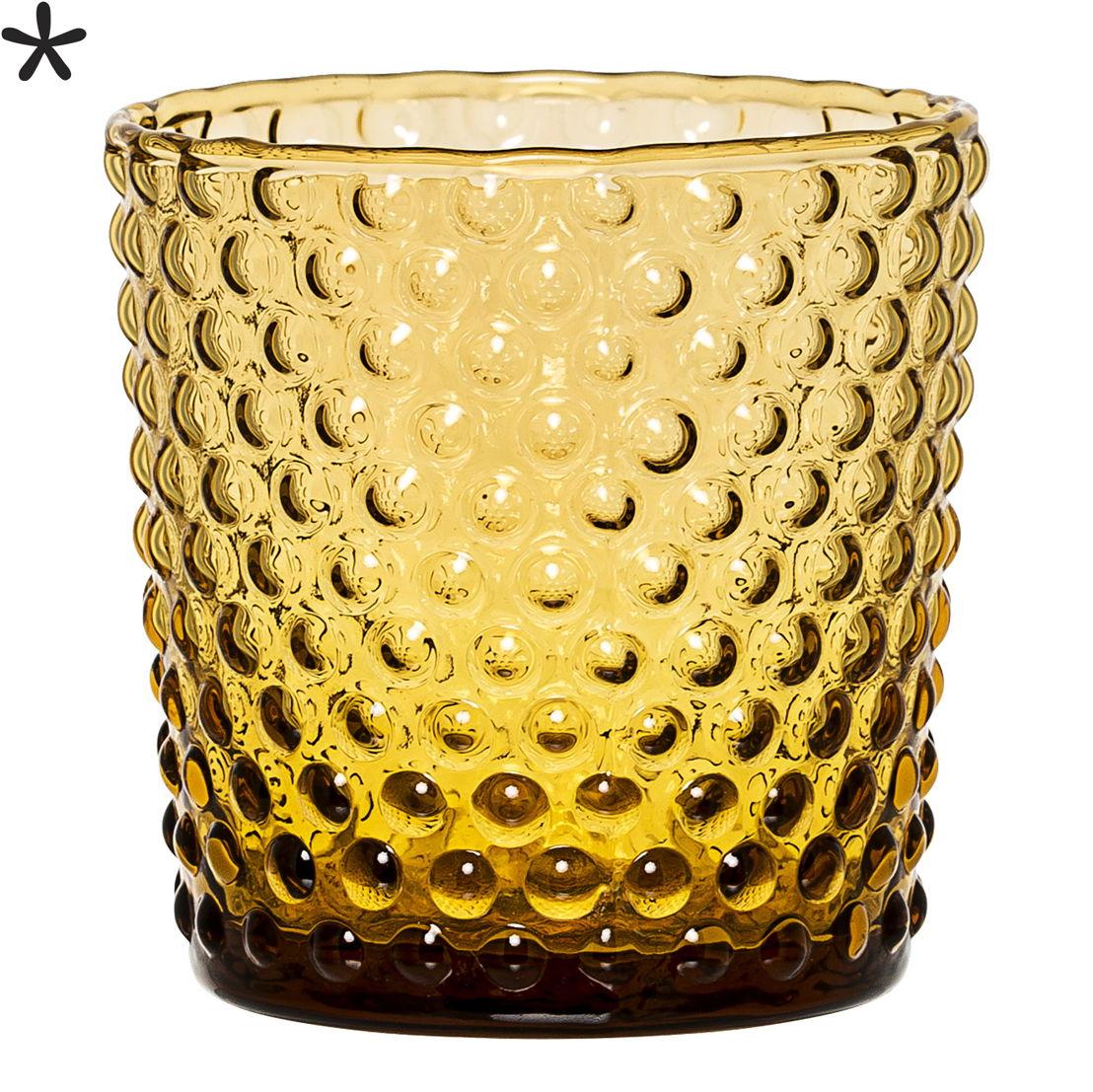 Bloomingville Waxinelichthouder amber 11€