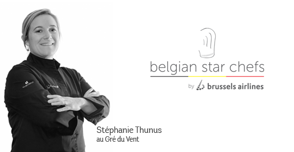 Preview: Lady chef Stéphanie Thunus and Brussels Airlines create gastronomic experience at 30,000 feet