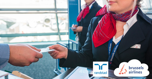 Brussels Airlines concludes partnership with Randstad to help temporarily unemployed staff get back to work in another sector
