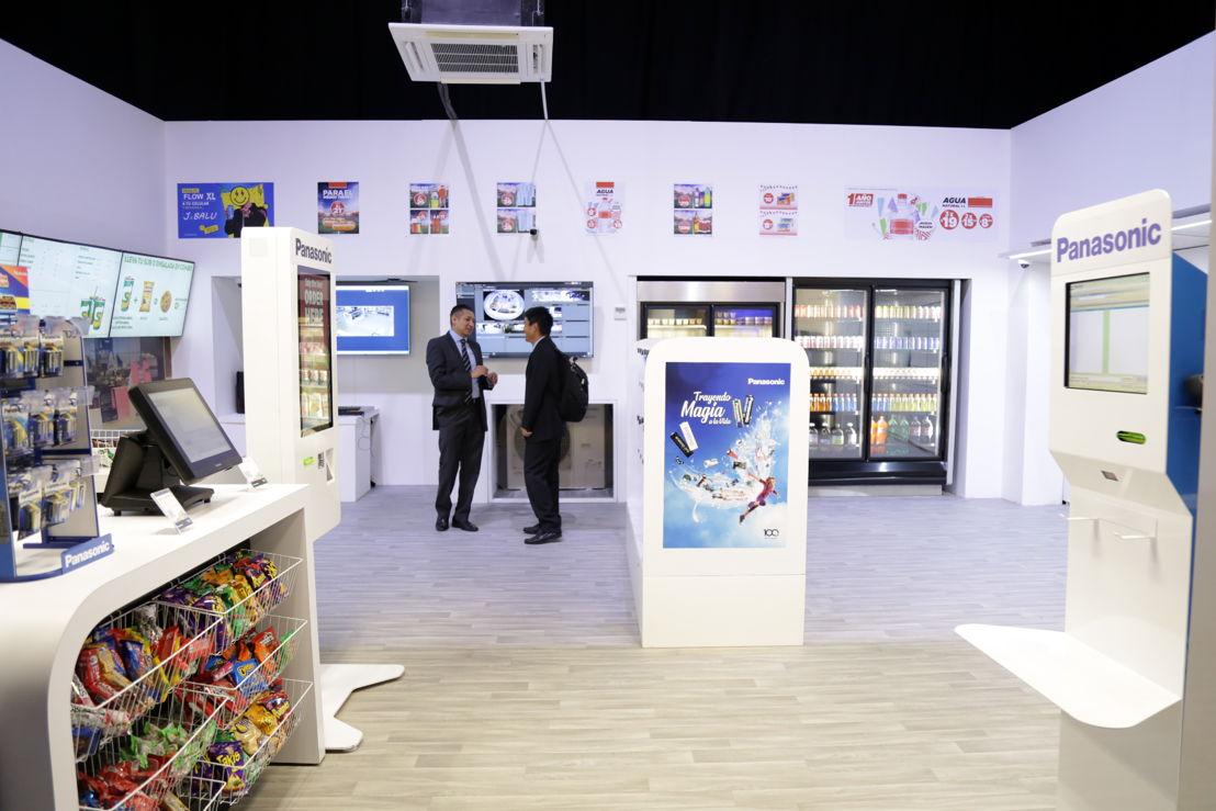 Área de exhibición soluciones Panasonic QSR Retail
