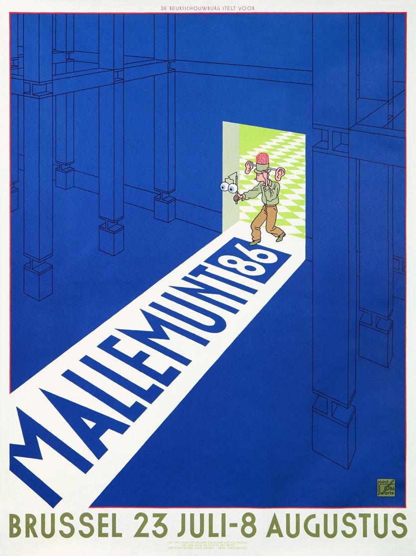 Mallemunt 1986, ontwerp Joost Swarte
