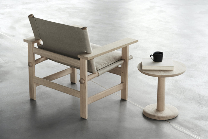 The Canvas Chair by Borge Mogensen, now at Great Dane