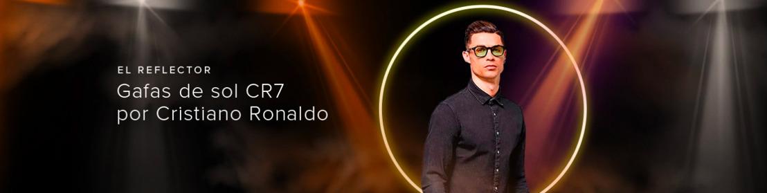 Cristiano Ronaldo llega a Mercado Libre con su nueva línea de lentes de sol CR7 Eyewear