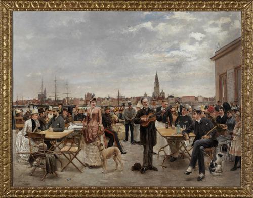 Bruikleen Zondagmiddag op Sint-Anneke nog te zien tot eind september in Museum Vleeshuis