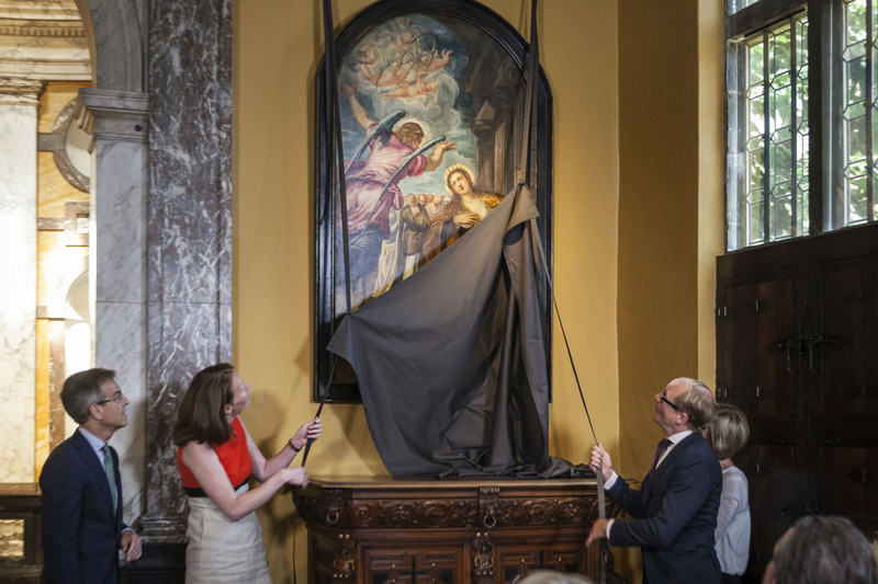 Onthulling David Bowie's Tintoretto @ Ans Brys