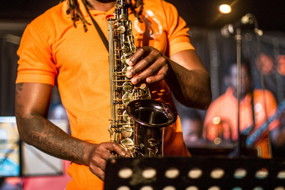 Ekurhuleni Jazz Ensemble. Image credit Megs Kelly, Cue Media