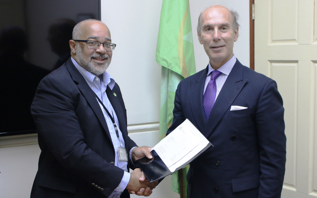 Ambassador of the Kingdom of Spain Presents Credentials to the Director General of the Organisation of Eastern Caribbean States (OECS)