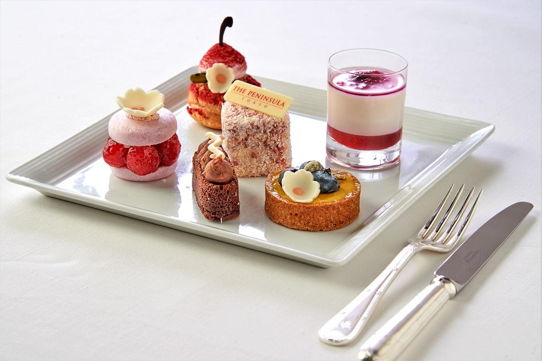 The Peninsula Tokyo: Sakura Dessert Plate