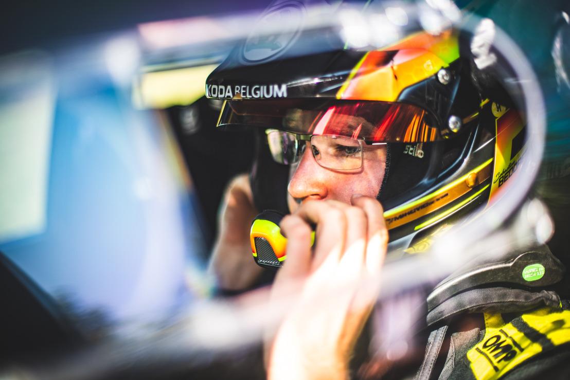 Sébastien Bedoret aan de start van WRC Croatia Rally