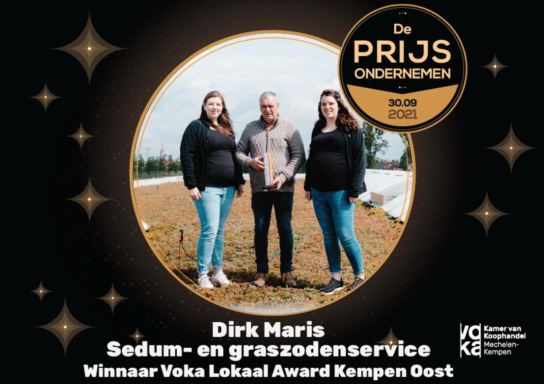 Tuinbouwbedrijf Dirk Maris strijdt mee voor Voka Prijs Ondernemen 2021