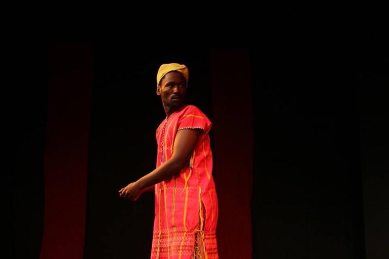 Thandolwethu Mzembe in the Holy Plan B. Image by Sthembele Jnr, Zabalaza Festival