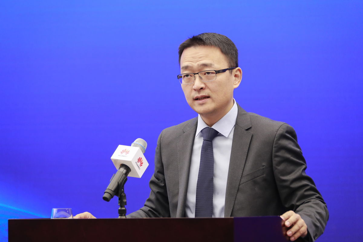 Karl Song, Vice President of Huawei's Corporate Communications Department