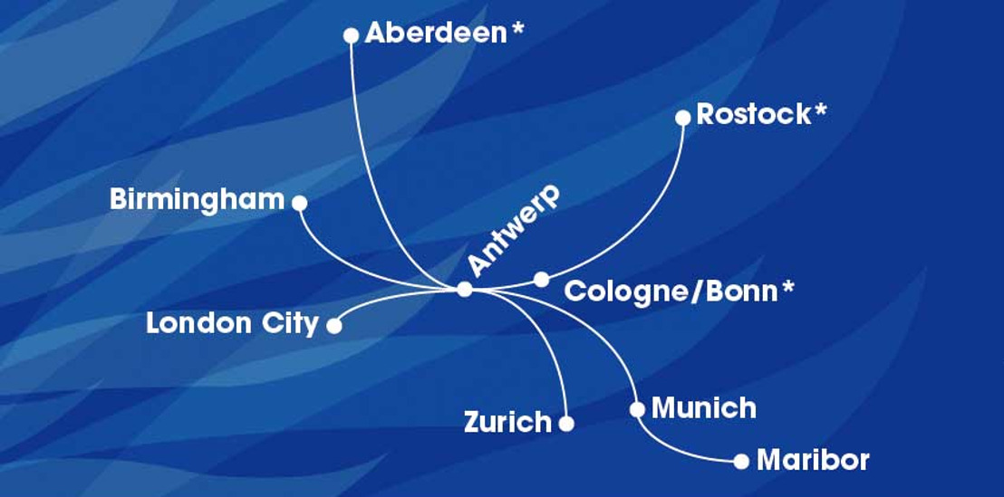 VLM announces three new destinations: Aberdeen, Cologne-Bonn Airport and Rostock