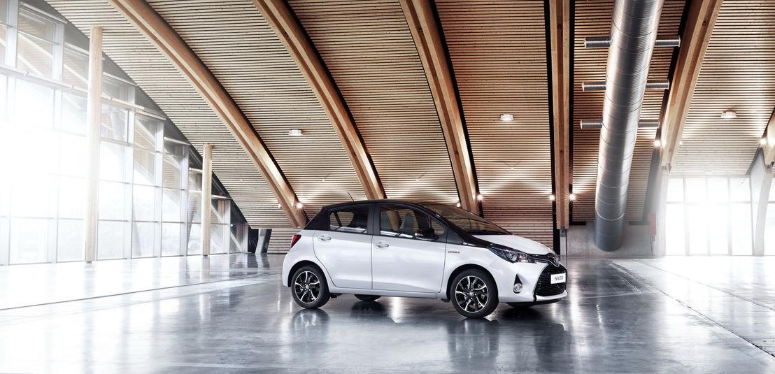 Toyota Yaris Two-Tone