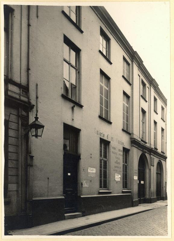 Het Rubenshuis in 1937