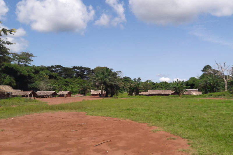General view of the area (Likati health zone) where the May 2017 Ebola outbreak occurred (Northeast DRC). Photographer: MSF Staff