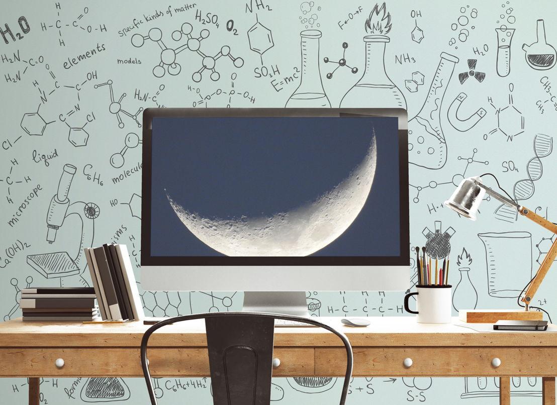 Chemistry - Doodles Wallpaper Mural