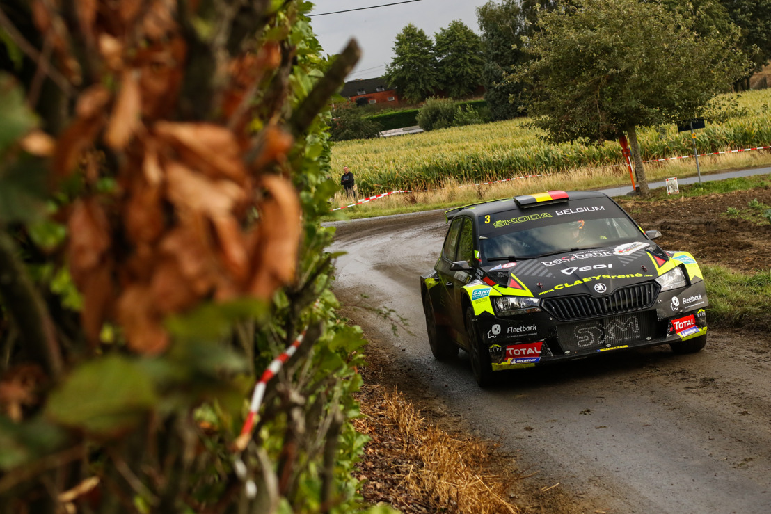 Sébastien Bedoret en mode attaque à l'East Belgian Rally