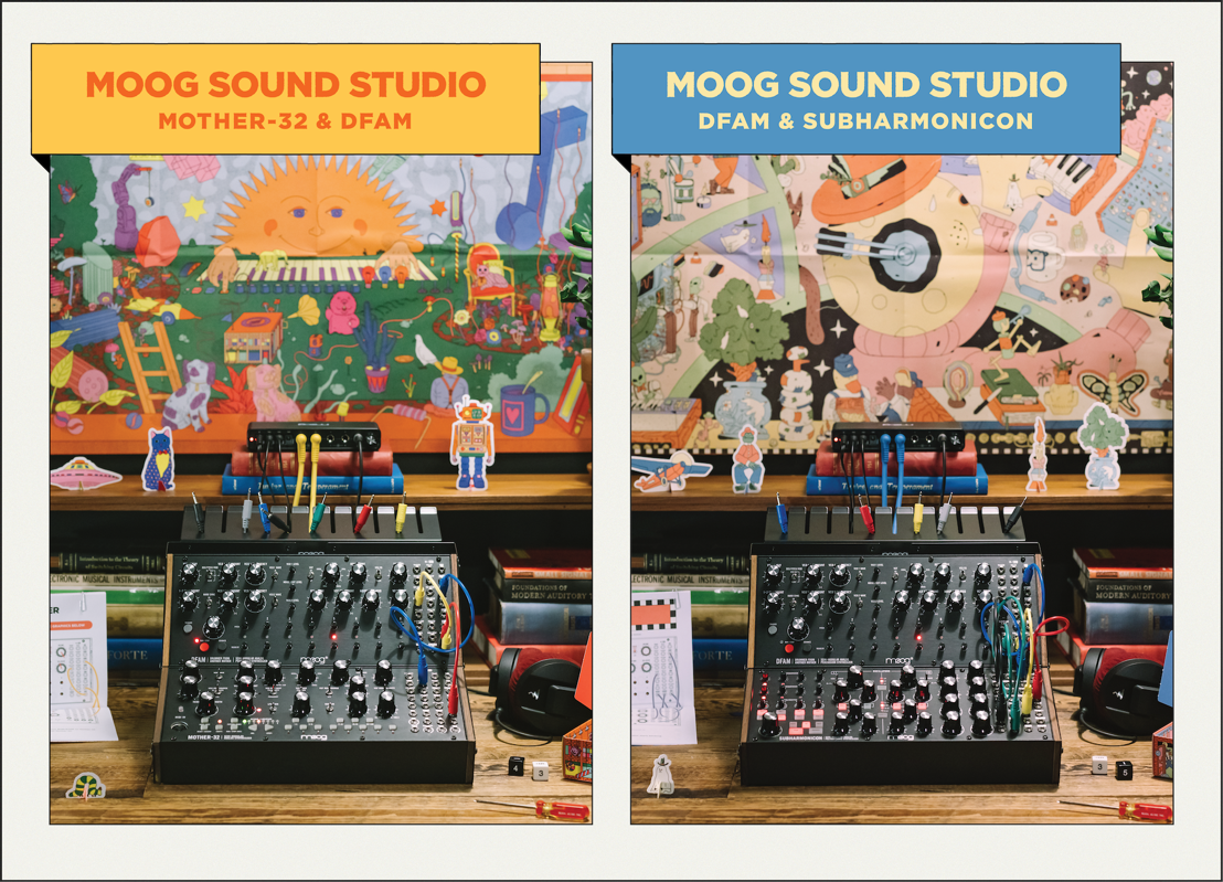 Moog Music Introduces Complete Synthesizer Studio Experience
