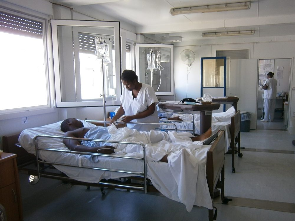 Tabarre hospital, opened in Port-au-Prince in February 2012, is a referral centre for trauma, orthopaedic and visceral surgery, capable of performing 600 operations a month. © Miguel Trelles/MSF