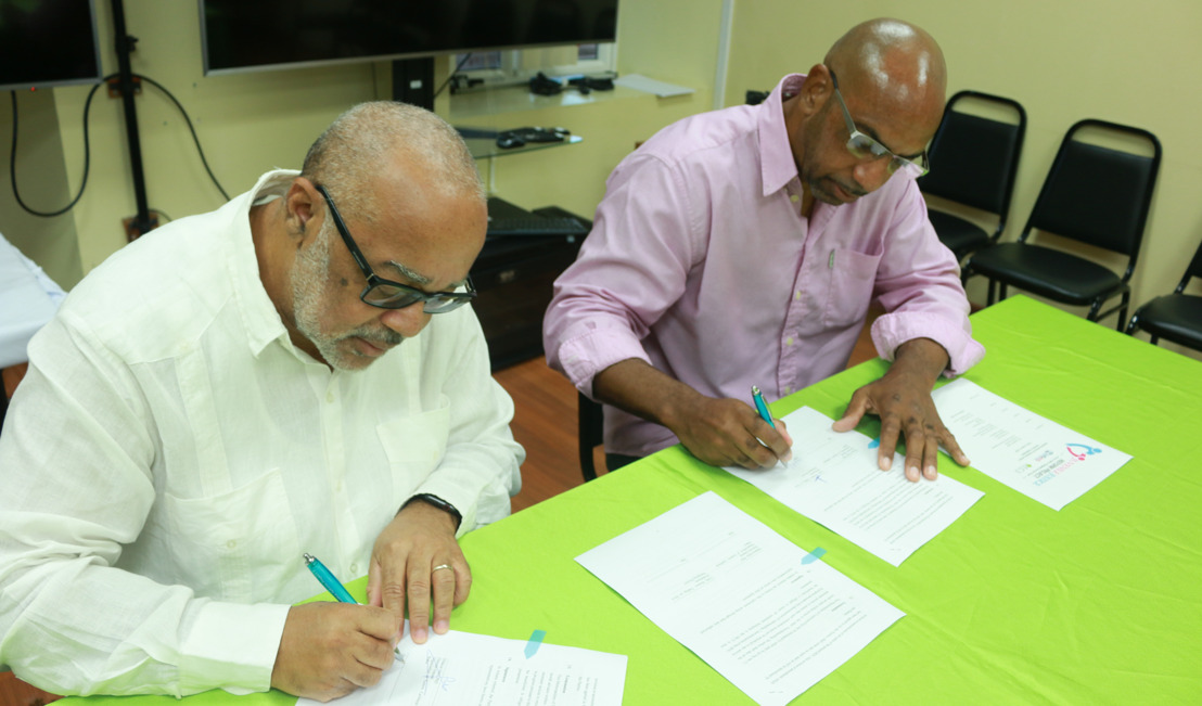 OECS Commission and Dove Productions sign Cinematography MOU for Juvenile Justice Reform Phase II
