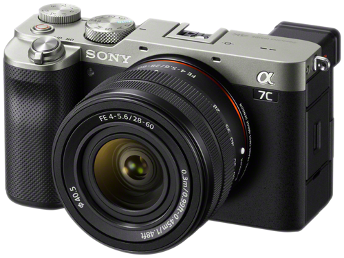 Sony Electronics Introduces Alpha 7C Camera and Zoom Lens, the World's Smallest and Lightest Full-frame Camera System