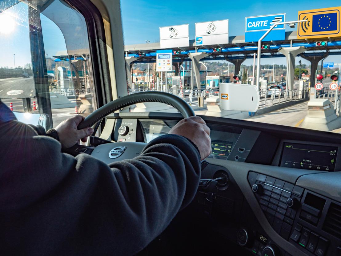 Boîtiers de télépéage de DKV bientôt acceptés sur les autoroutes italiennes