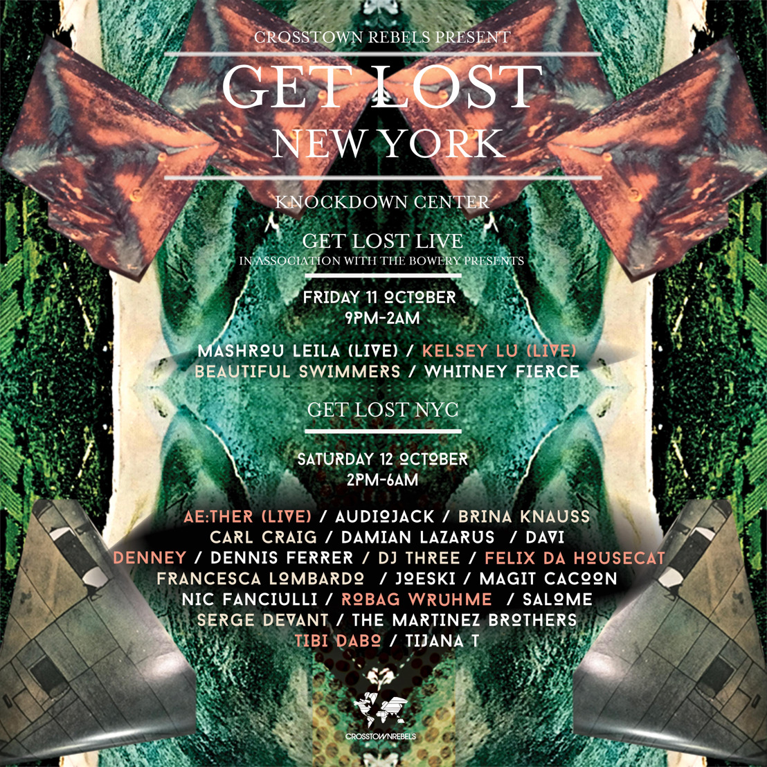 Damian Lazarus Announces Get Lost NYC Featuring 25 Artists Spread Over Two Nights October 11-12 at Knockdown Center