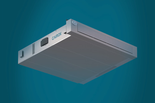 CAIROX économise de l'énergie avec la nouvelle unité de récupération de chaleur.