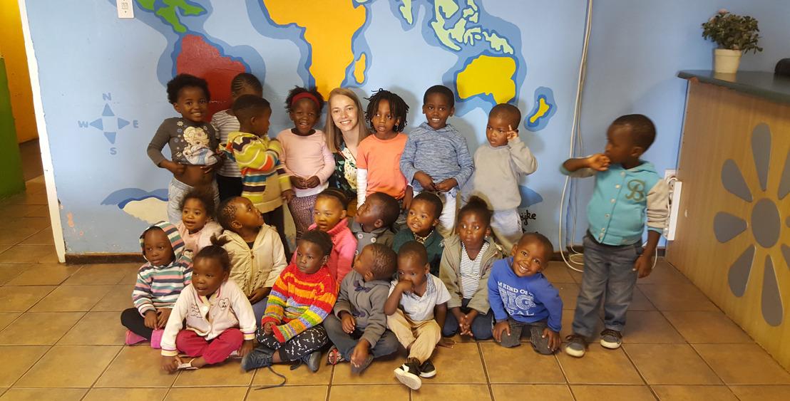 Odisee-studente uit Halle haalt Zuid-Afrikaanse krant
