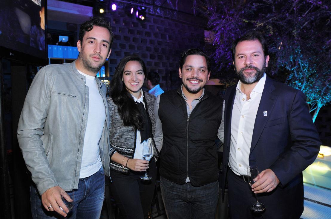 José Ramón Álvarez, Thalia Castro, Daniel Villanueva y Enrique Olvera