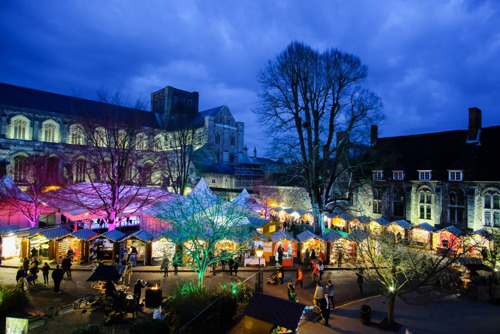 Events, shows and activities that make Winchester 'England's Christmas Capital'
