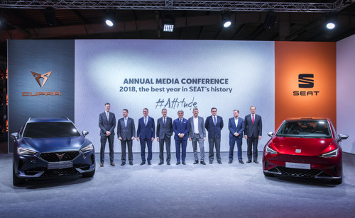 SEAT lanceert zes elektrische en oplaadbare hybridemodellen en ontwikkelt in Spanje een nieuw platform voor elektrische voertuigen