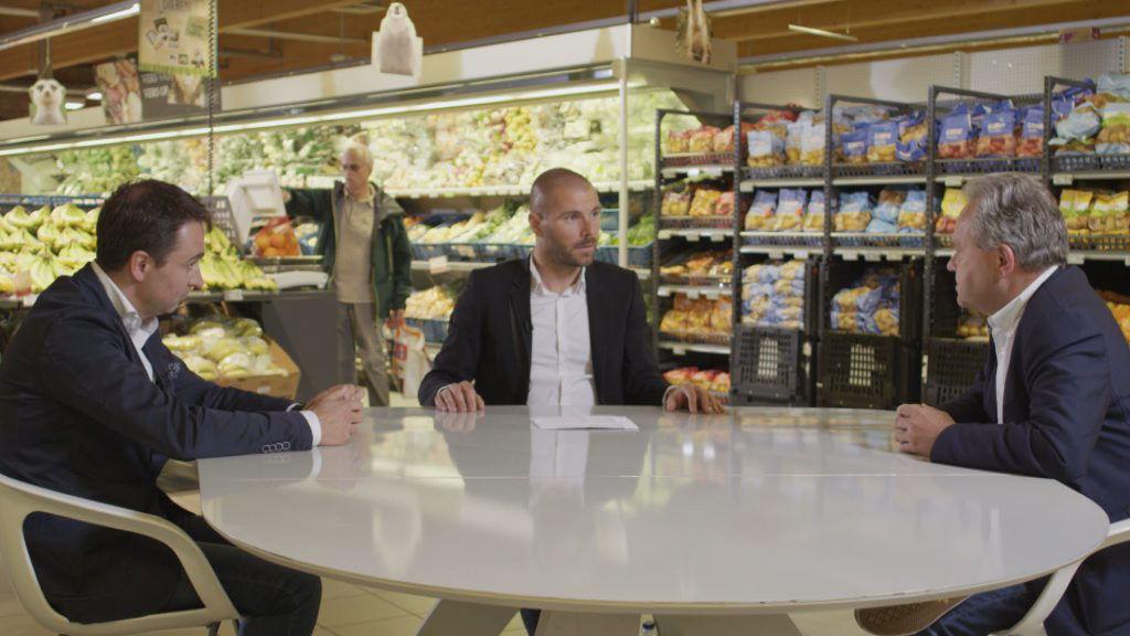 Gino Van Ossel en Ludovic De Poortere bij Kobe Ilsen. (c) VRT