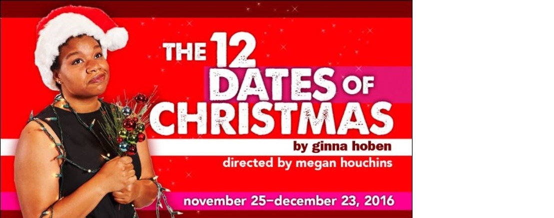 "Aurora Theatre holiday classic ""The 12 Dates of Christmas,"" returns November 26-December 23"
