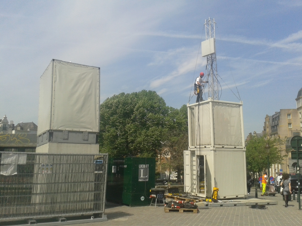 Container site