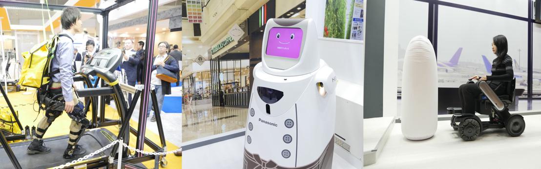 Panasonic presentó nuevas soluciones de robótica en iREX 2017