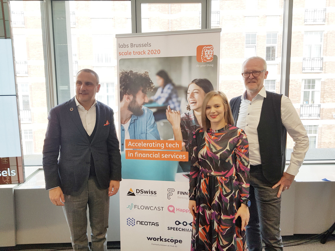 ING Labs Brussels supports scale-ups and internal teams with the development of fintech concepts